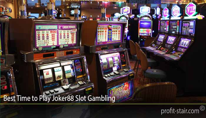 Best Time to Play Joker88 Slot Gambling